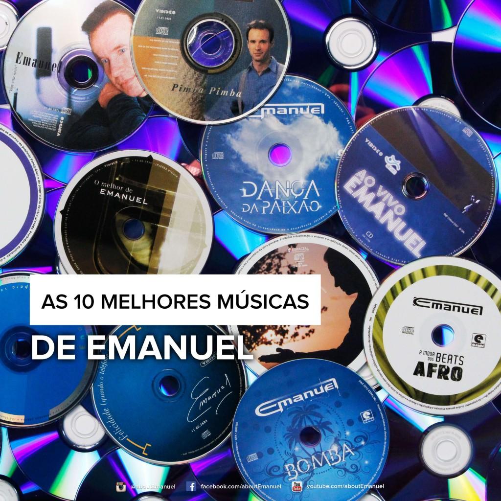 As 10 melhores músicas blog cantor emanuel